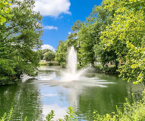 Stunning Lake & Fountain View, Chartwell