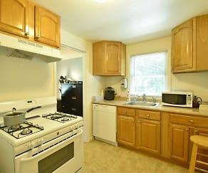 Kitchen, West Gate Town Homes