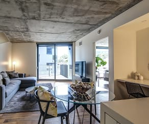 Living Room, The Apartment Residences at AKA