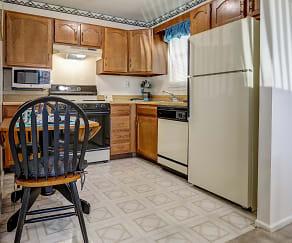 Kitchen, Montclair Duplex Apartments
