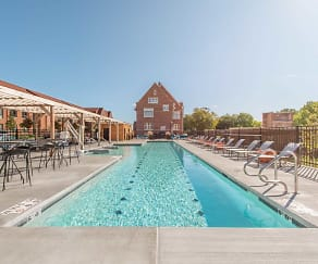 Pool, Echelon Apartments at Innovation Campus