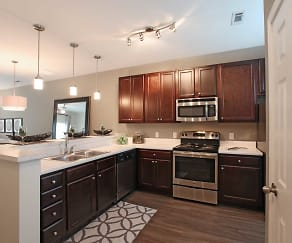 Kitchen, Loch Raven Pointe Apartments and Townhomes