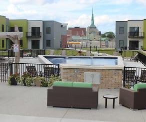 Pool, Cityscape Flats
