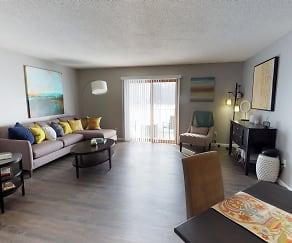 Living Room, Park Place Apartments
