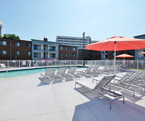 Pool, Shelard Village Apartments