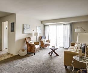 Living Room, Essex Park Apartments