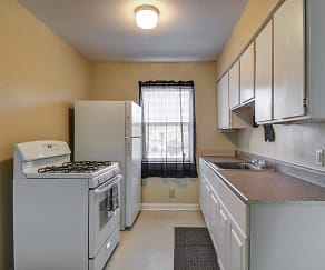 Kitchen, Sandpiper Cove Apartments