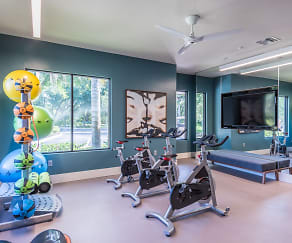 Fitness Weight Room, The Retreat at Bermuda Lake by Cortland