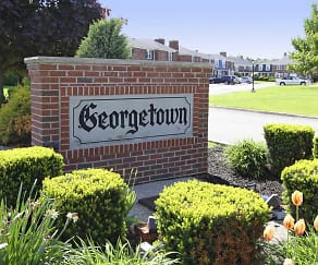 Community Signage, Georgetown Apartments Of Amherst