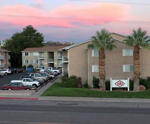Building, Red Mountain Student Living