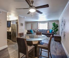 Dining Room, Villas at Papago Apartments