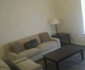 Living Room, Broad Way Apartments