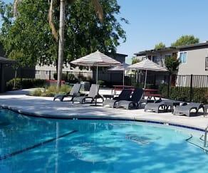 Pool, Vantage Apartments