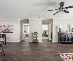 Renovated Apartment Living Room - Live Oak Trace, Live Oak Trace