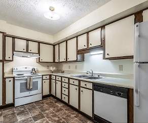 Kitchen, Devonshire Apartments
