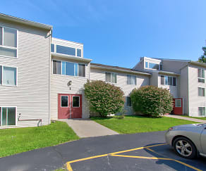 Building, Minoa Estates Apartments