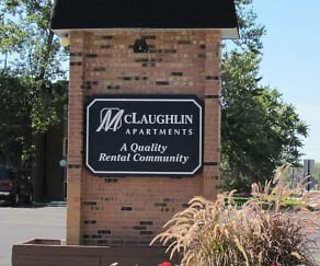 Community Signage, McLaughlin Apartments