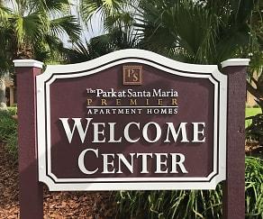 Community Signage, The Park at Santa Maria