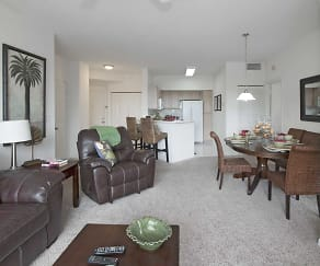 Living Room, Ocean Reef At Seawalk Pointe