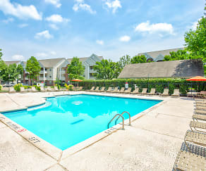 Pool, Carriage Place Apartments