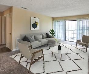 Living Room, Nantucket Harbor