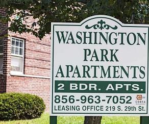Building, Washington Park Apartments