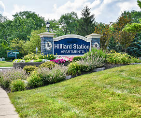 Community Signage, Hilliard Station Apartments
