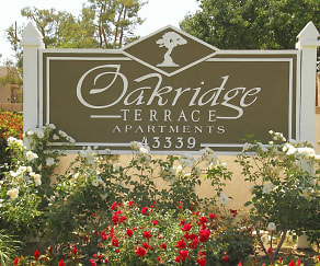 Community Signage, Oak Ridge Terrace