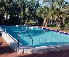 Pool, Port Coral Apartments