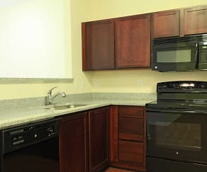 Kitchen, Kirkwood Place Apartments