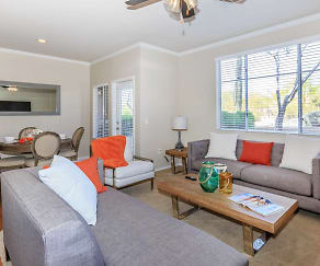 Living Room, Azure Creek at Tatum Ranch