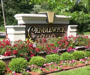 Community Signage, Candlewyck Apartments
