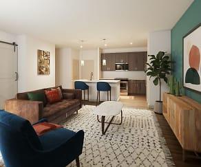 Living Room, Citadel at Tech Ridge