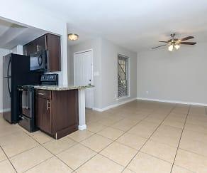 Dining Room, Residence at Garden Oaks
