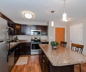 Kitchen, Silver Waters 55+ Community