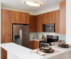Kitchen, Villa Torino