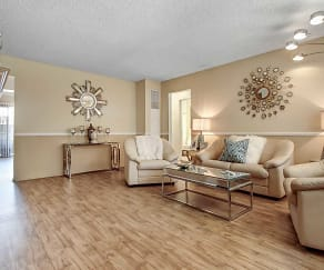 Living Room, The Medici At South Hills