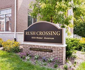 Community Signage, Rush Crossing