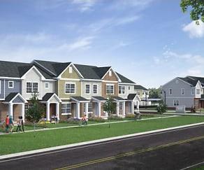 Building, Midtown Pointe Apartments