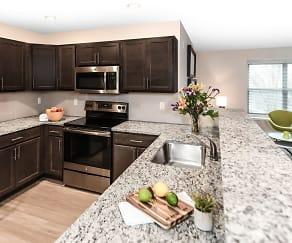Kitchen, 304 River Edge Lofts