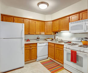 Kitchen, Blackhawk Apartments
