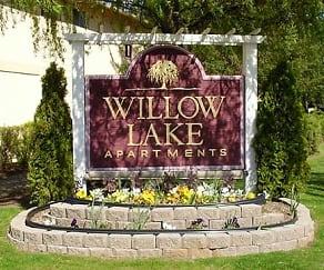 Community Signage, Willow Lake