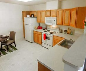 Kitchen, Hillcrest - Senior 62+ Community