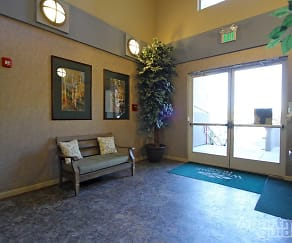 Inviting lobby and gateway to your new home, Aspen Terrace