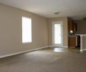 Living Room, Indian Creek Apartments