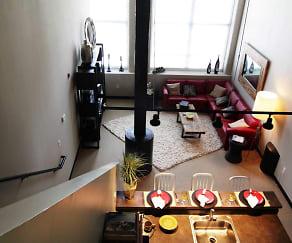 Living Room, Residences At Slatersville Mill
