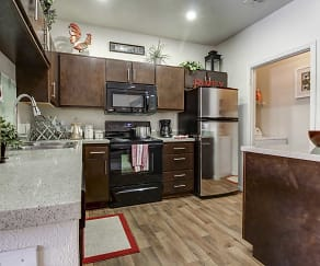 Kitchen, Mountainside Apartments