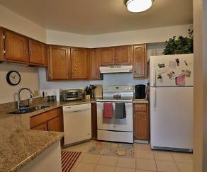 Kitchen, 1625 Larimer Street, Unit 608