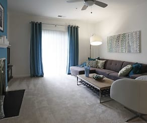 Living Room, The Point at Seven Oaks