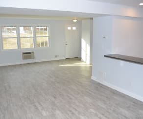 Living Room, Townhomes at Meadowbrook Village